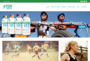 Dynamic web design by Garlic Media