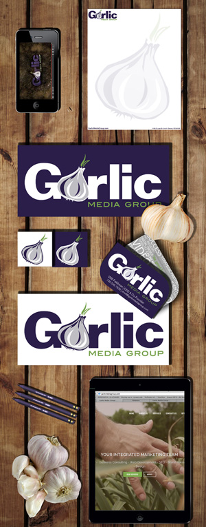 Garlic Media Group's In House Branding