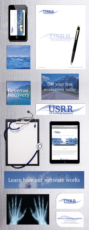 US Revenue Recovery's Branding Sheet by Garlic Media Group